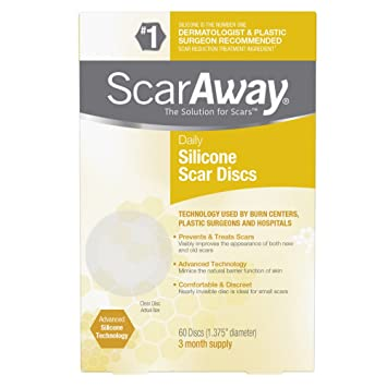 Amazon Com Scaraway Silicone Daily Disc Scar Sheets 60 Discs