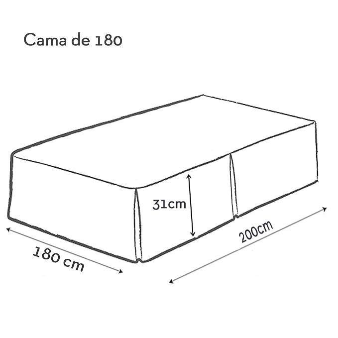180/cm Stampa Persiana Grigio 180/x 180/cm Poliestere Douceur d Interno Tovaglia Rotonda