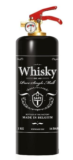 dnc-tag safe-t feuerlöscher, design whisky: amazon.de: küche ... - Feuerlöscher Für Küche