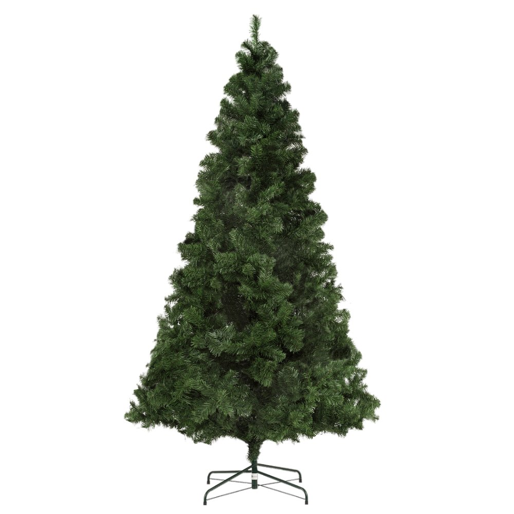 420897ce1361 Amazon.com  Homegear Deluxe 7.5ft Artificial Spruce Christmas Tree with Metal  Stand  Home   Kitchen