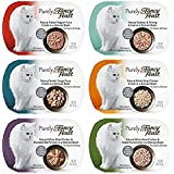 Purely Fancy Feast Variety Box - 6 Flavors, 2 oz Each (2 of Each