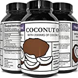 Product review for Pure Organic Coconut Oil – Natural Supplement for Heart Health – Supports Normal Blood Sugar & Cholesterol Levels – Cold Pressed & Extra Virgin – 1000mg – 120 Softgels – By Huntington Labs