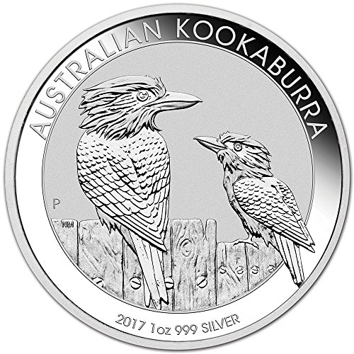 2017 AU Australia Silver Kookaburra (1 oz) $1 Brilliant Uncirculated Perth Mint