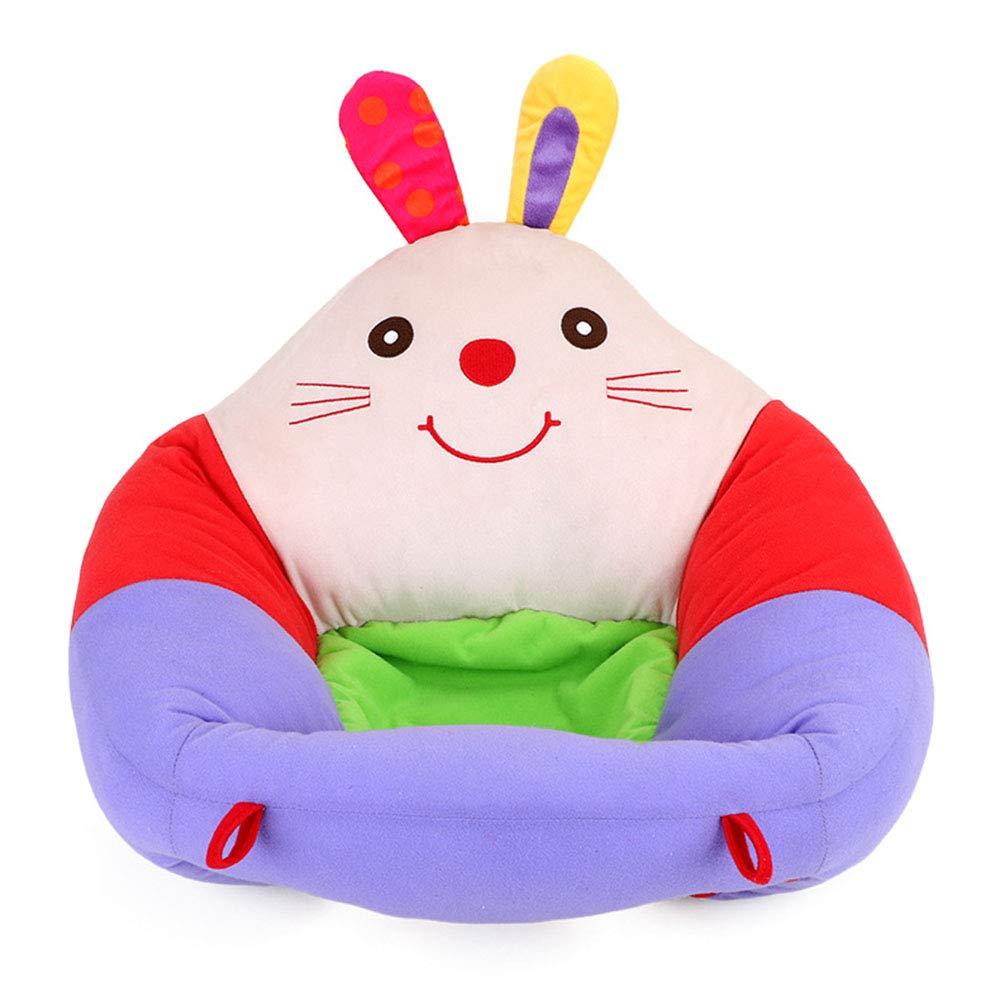 Soporte para beb/é Asiento Suave Felpa Sof/á de Dibujos Animados Infantil Sill/ón de Aprendizaje Silla de Felpa Coj/ín Juguetes Asiento