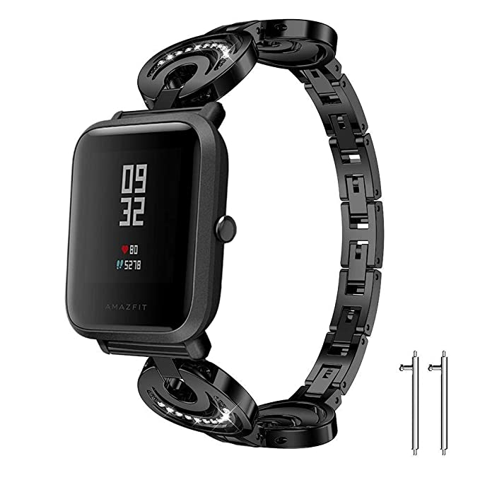 Amazon.com: for Xiaomi Amazfit Bip Band, Lamshaw Crystal ...