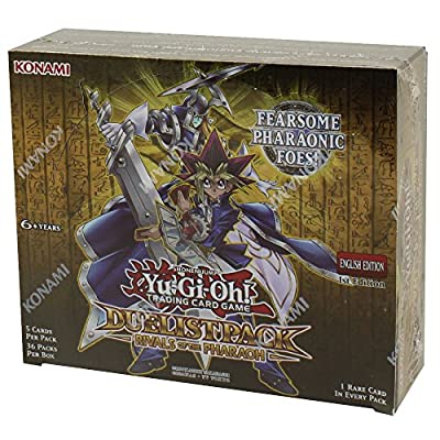 Yugioh Rivals Of Pharaoh Duelist Packs Booster Box - 36 packs of 5 cards each 61qDcJX2r7L._SY400_