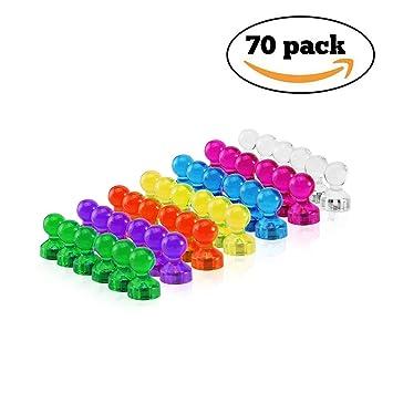 Fuerte Magnético chinchetas, raylife 70 unidades 7 Color ...