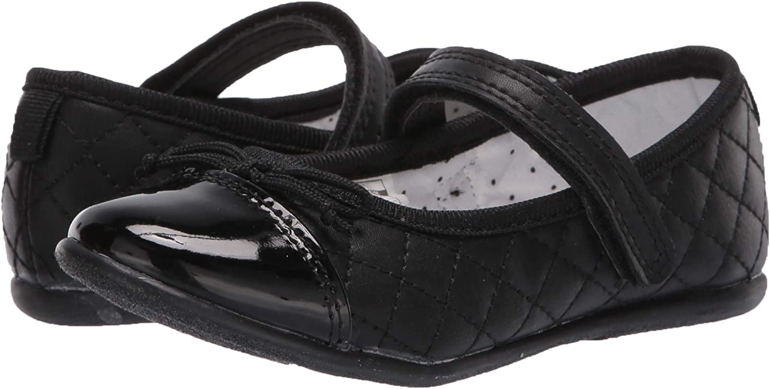 Carters Kids Quilted Mary Jane Ballet Flat