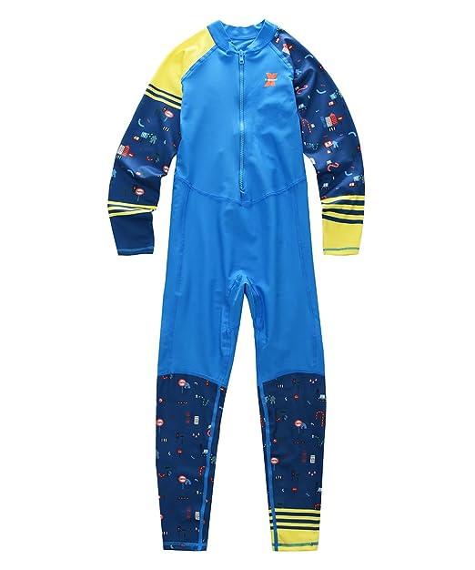 Amazon.com: M2 °C x-manta niños niñas traje de baño de ...