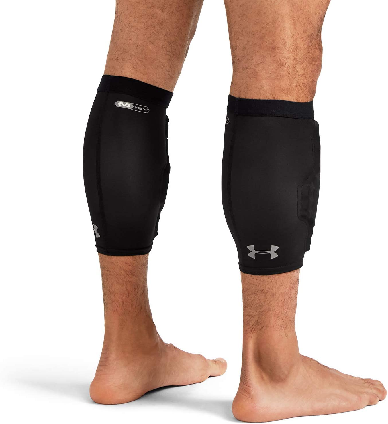 NWT Under Armour HeatGear Men/'s Padded Knee Leg Sleeves 2 Basketball