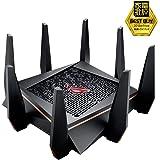 ASUS ゲーミング WiFi 無線LAN ルーター GT-AC5300 11ac 2167+1000Mbps 最大24台 4LDK 3階建向け 【 PS4 / Wii U/iPhone 対応 】