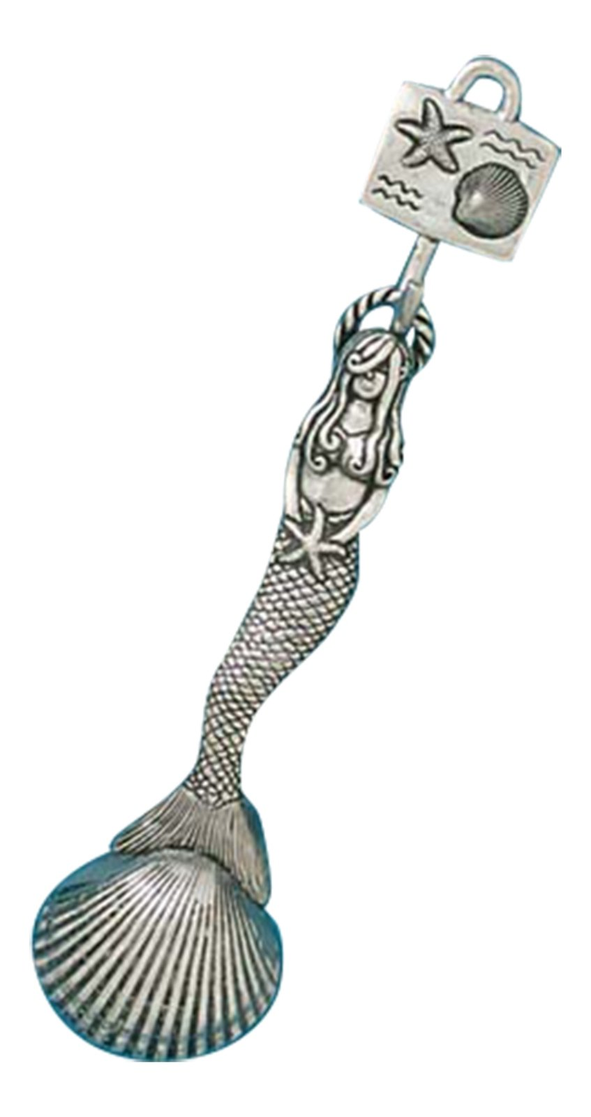 Basic Spirit Pewter Mermaid Coffee Measuring Scoop Kitchen Decor Collectible
