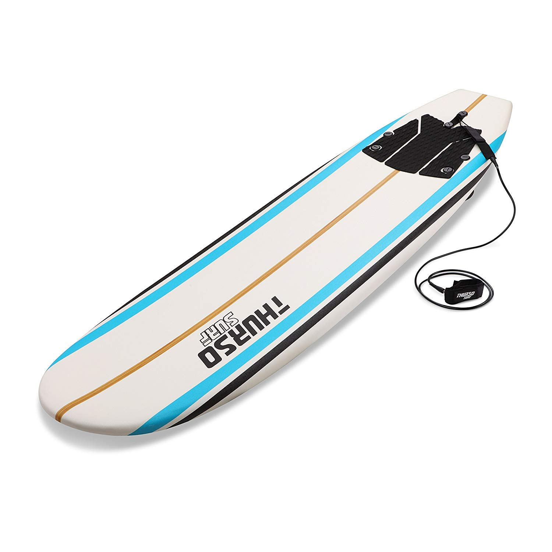 Amazon.com: THURSO SURF Aero 7 ft Soft Top Surfboard Foam ...