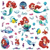 RoomMates RMK2347SCS The Little Mermaid Peel and Stick Wall Decals, 1-Pack Picture