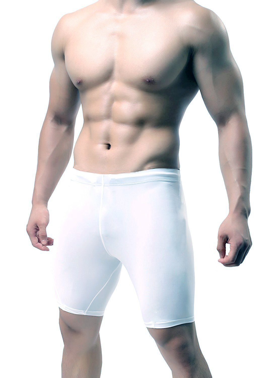 KD Willmax Compression Half Tight Plain Athletic Fit Multi Sports Cycling, Cricket, Football, Badminton, Gym, Fitness & Other Outdoor Inner Wear product image