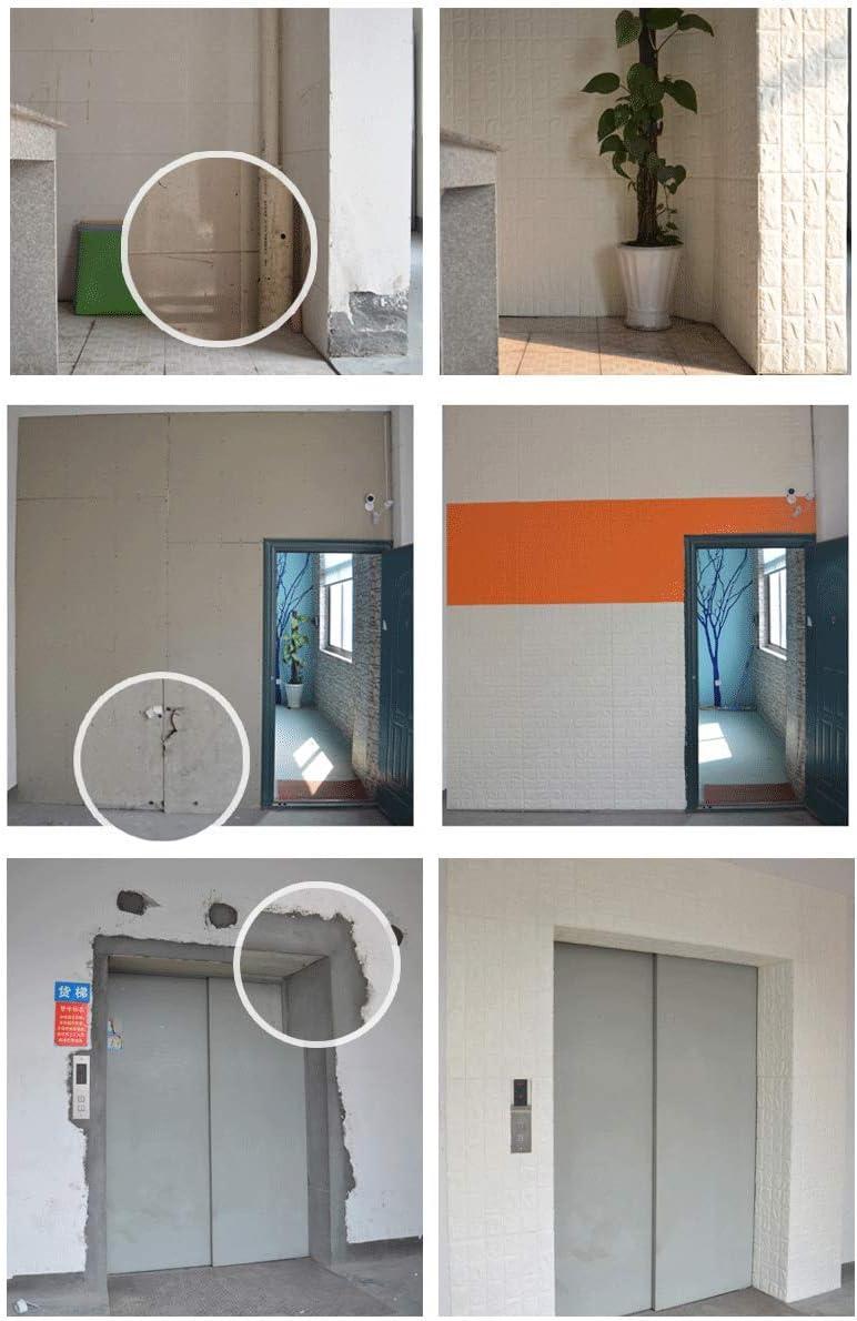 20 Pieces Papel Pintado Imitación Ladrillo Win-Y Diseño 3D Fondo de Pantalla de PVC Decoración de Ladrillo Sala de Oficina Hotel Restaurant (23.6