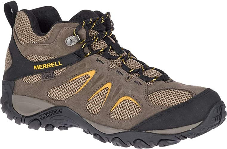 Merrell Mens Yokota 2 Waterproof Hiking Boot Bracken 9 M US