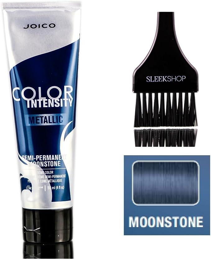 Joico Intensidad del color metálico semi-permanente en crema de color de pelo (liso Con Tinte cepillo) (Moonstone)