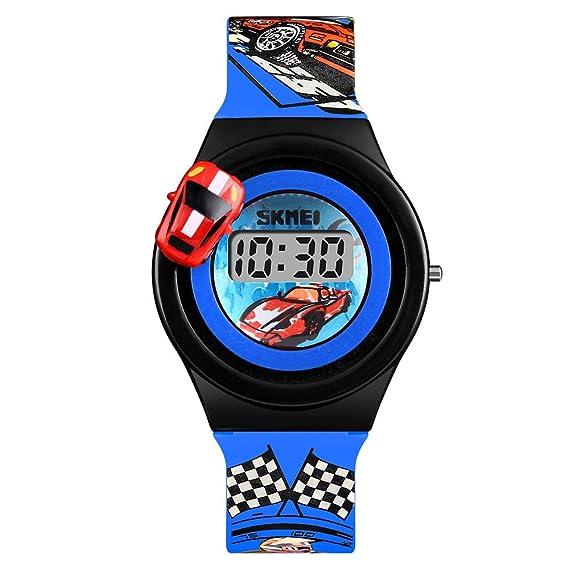 Relojes deportivos digitales para niños -MX Kingdom niños adolescentes electrónicos impermeables al aire libre reloj