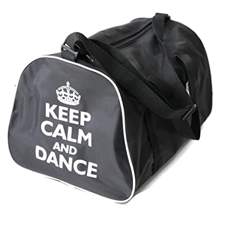 6eef3478a7c1 KEEP CALM AND DANCE Holdall Bag for dancer in Pink, Red, Black or Blue