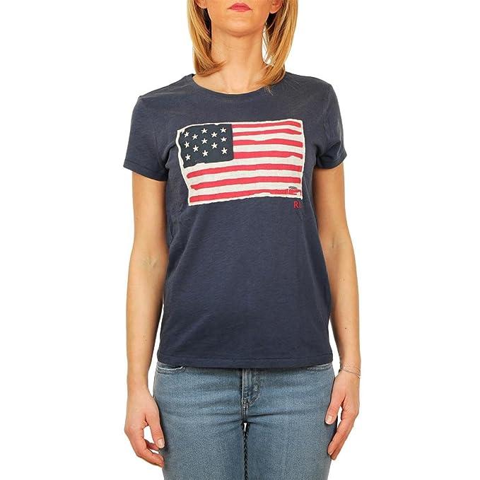 Polo Ralph Lauren T-Shirt Donna Nevis: Amazon.es: Ropa y accesorios