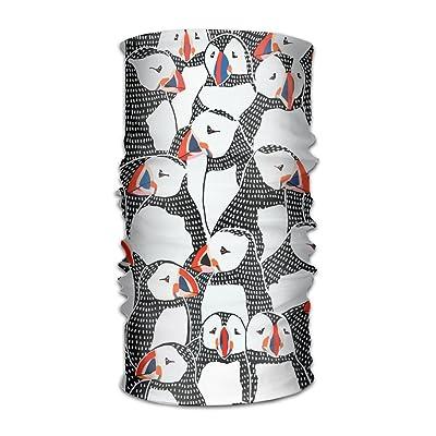 Shadidi Unisex Many Penguin Multifunction Changed Headwear Headscarf Bandanas