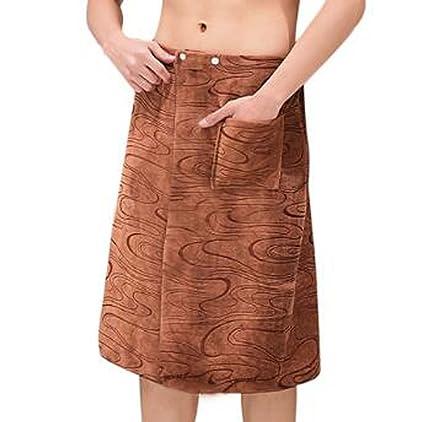 Toalla de baño para hombres Toalla de toalla para toallas, suave y absorbente, Ripple