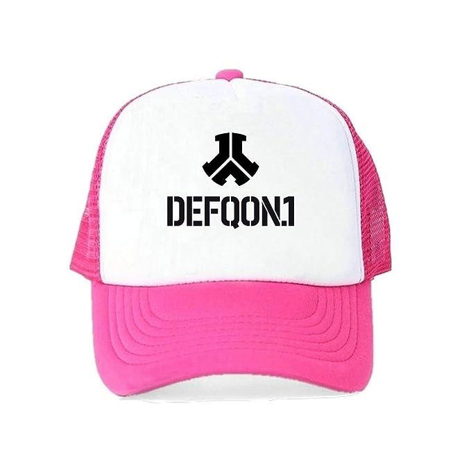 Summer Baseball Cap Defqon 1 Men Women Cap Rock Band Hat