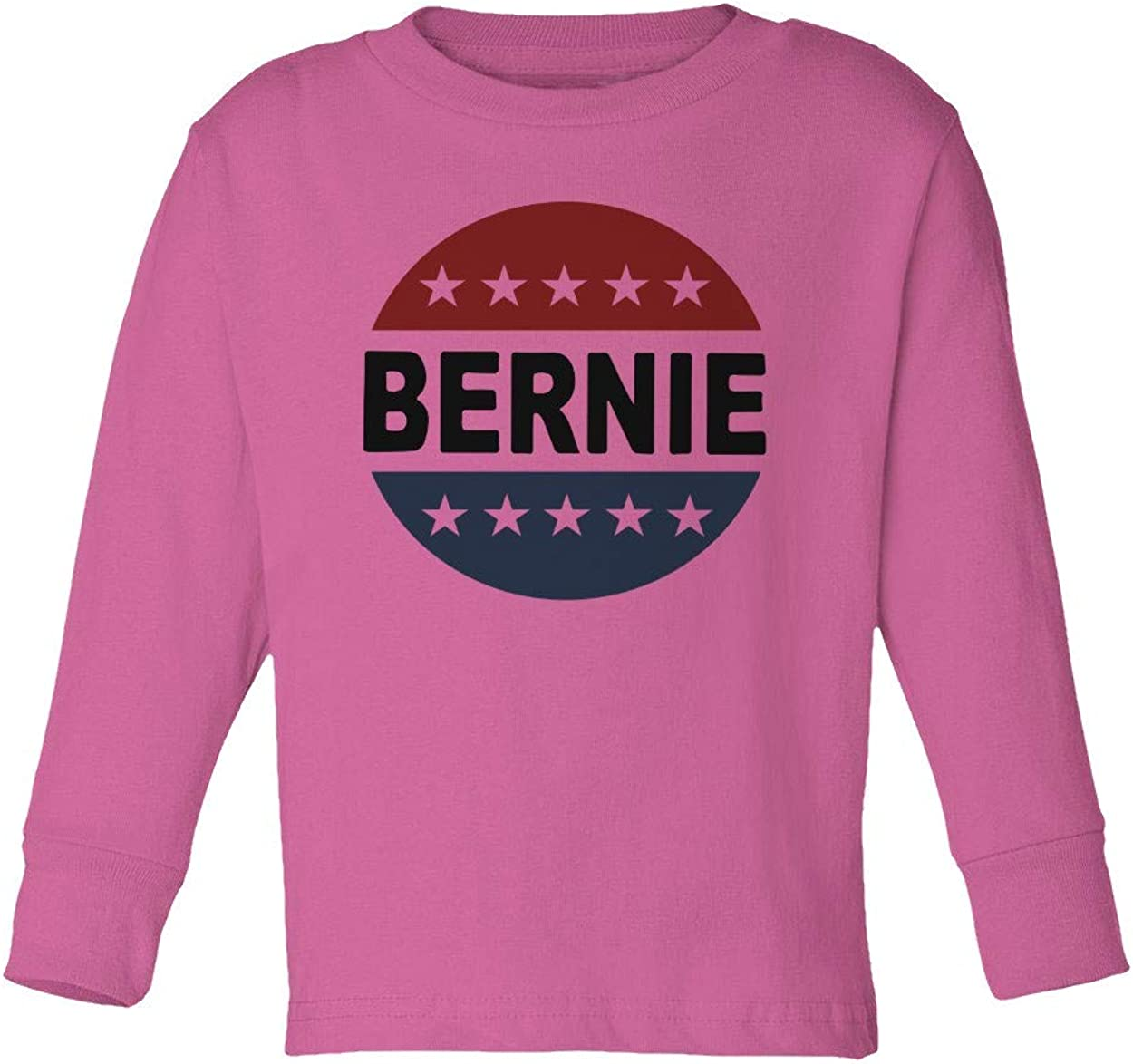KING THREADS Vote for Bernie Sanders Democrats Run Election 2020 Toddler Long Sleeve T-Shirt
