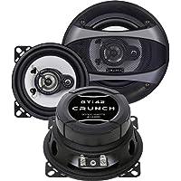 Crunch GTi42 Rond 2-Voies 100W Enceinte de Voiture - Enceintes de Voiture (2-Voies, 100 W, 50 W, 4 Ohm, Polypropylène, 4,7 cm)