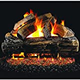 Peterson Real Fyre 24-inch Split Oak Log Set With Vented Natural Gas G4 Burner – Match Light For Sale