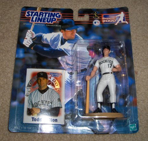 - 2000 Todd Helton MLB Starting Lineup Figure