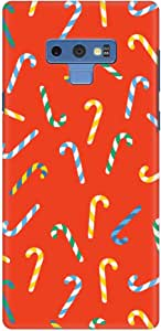 Stylizedd Samsung Galaxy Note 9 Slim Snap Classic Case Cover Matte Finish - Candy Canes