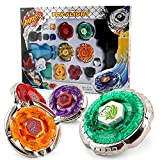 #8: Battling Top Fusion Metal Master Rapidity Fight With 4D Launcher Grip Set by LEYAN