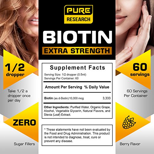 Buy biotin supplements for hair growth
