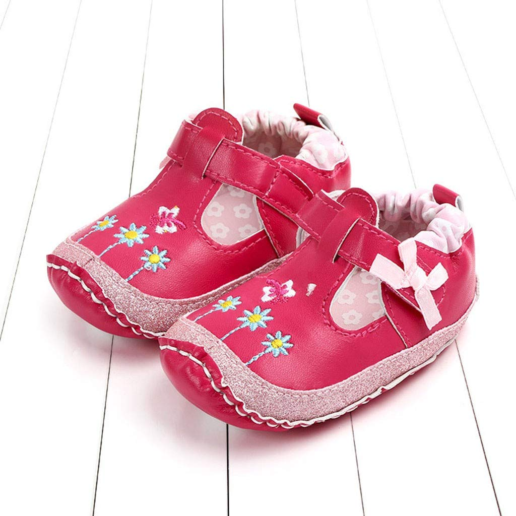 Lanhui Toddler Flower Cartoon First Walkers Soft Sole Casual Shoes Newborn Baby Shoes