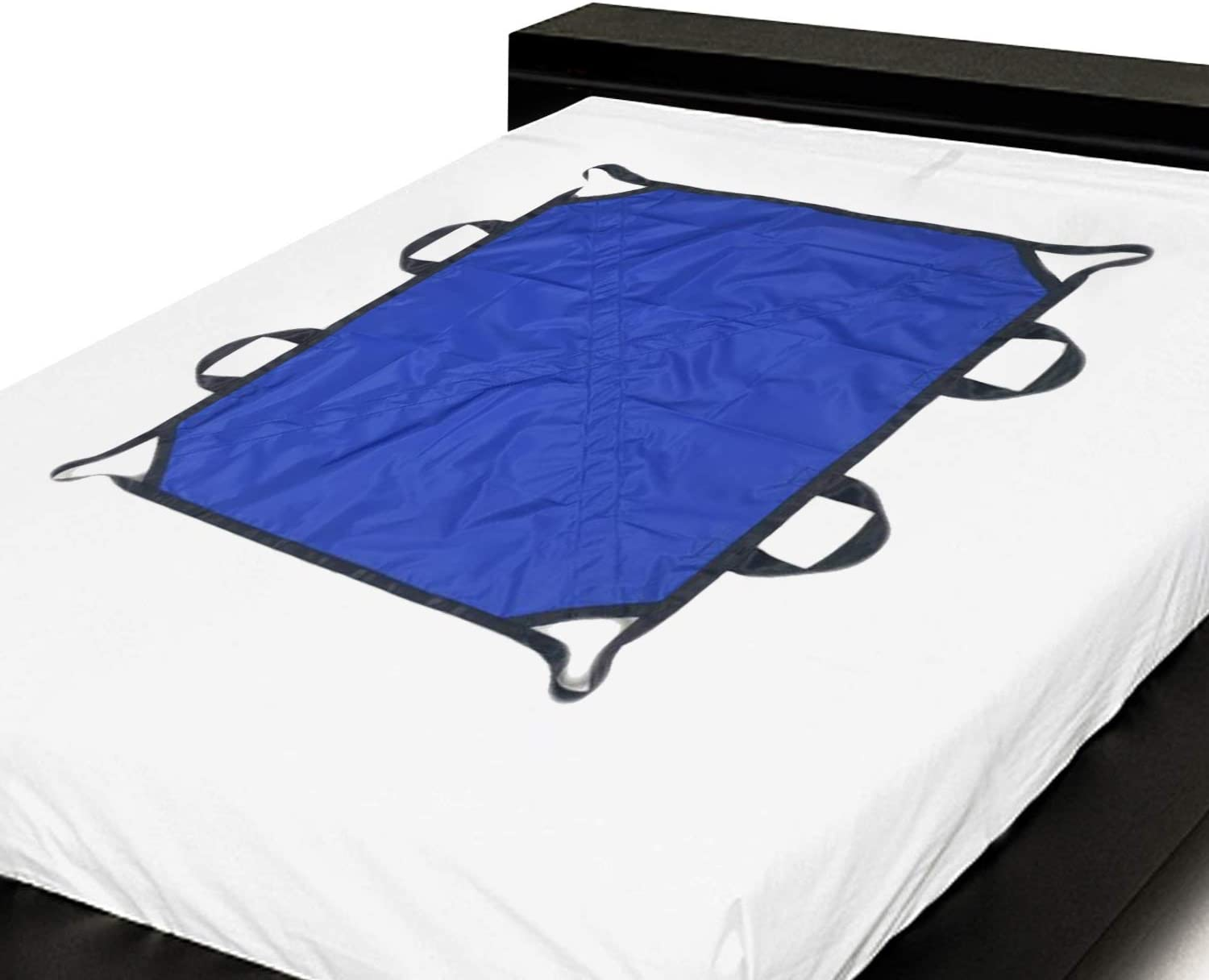 Positioning Bed Pad Patient Repositioning Slide Draw Sheet with Handles Disability Aids for Hospital Bedridden Lift Moving Patient Elderly Seniors Turner Transfer Sling Home Nursing 48