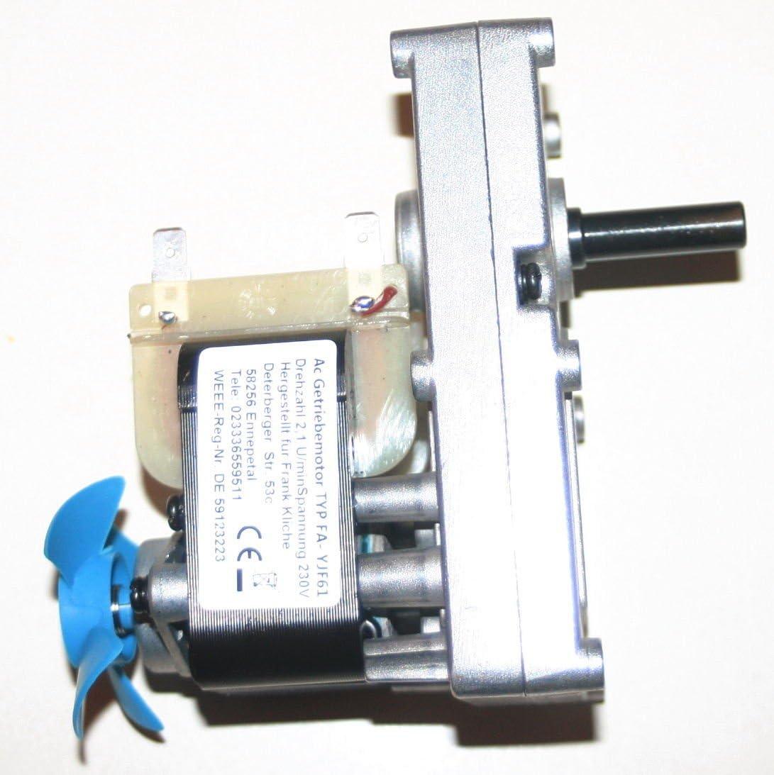 Grillmotor bis 100Kg Grillgut  2,1 U// Min />30Nm im  Edelstahlgehäuse
