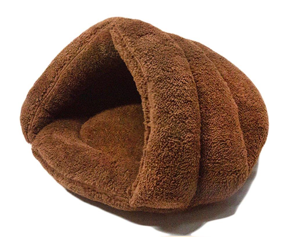 Xiaoyu Inverno Caldo e Confortevole Cane da Compagnia Caldo M Luce Abbronzatura Cuscino di Gatto Cuscino met/à Sacco a Pelo Letto Coperto Puppy