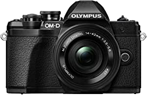 Olympus OM-D E-M10 Mark III Camera - Single Lens Kit with 14-42mm EZ Lens (Black)