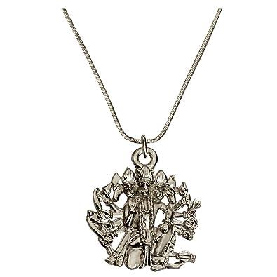 Rich famous silver toned panchmukhi hanuman alloy pendant for men rich famous silver toned panchmukhi hanuman alloy pendant for menmulticolour aloadofball Images