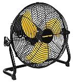 Appliances : Master PROFESSIONAL Mac-12F High Velocity Direct Drive Floor Fan, Black