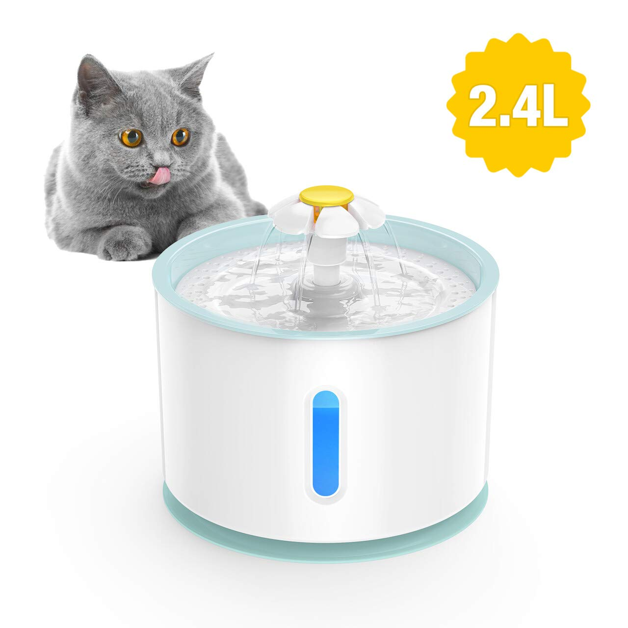 Great water bowl for our cats and medium sized dog