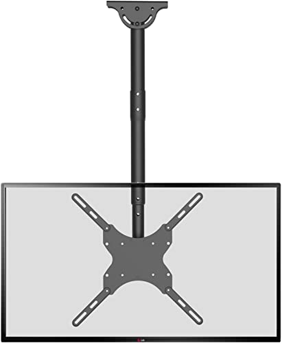TV Ceiling Mount Adjustable Bracket Fits Most LED, LCD, OLED and Plasma Flat Screen Display 26 to 65 Inch, up to 110 Lbs, VESA 400x400mm CM2665 , Black by WALI