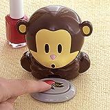 monkey Bits and Pieces - Monkey Shaped Nail Polish Dryer - Portable Personal Nail Blower Machine