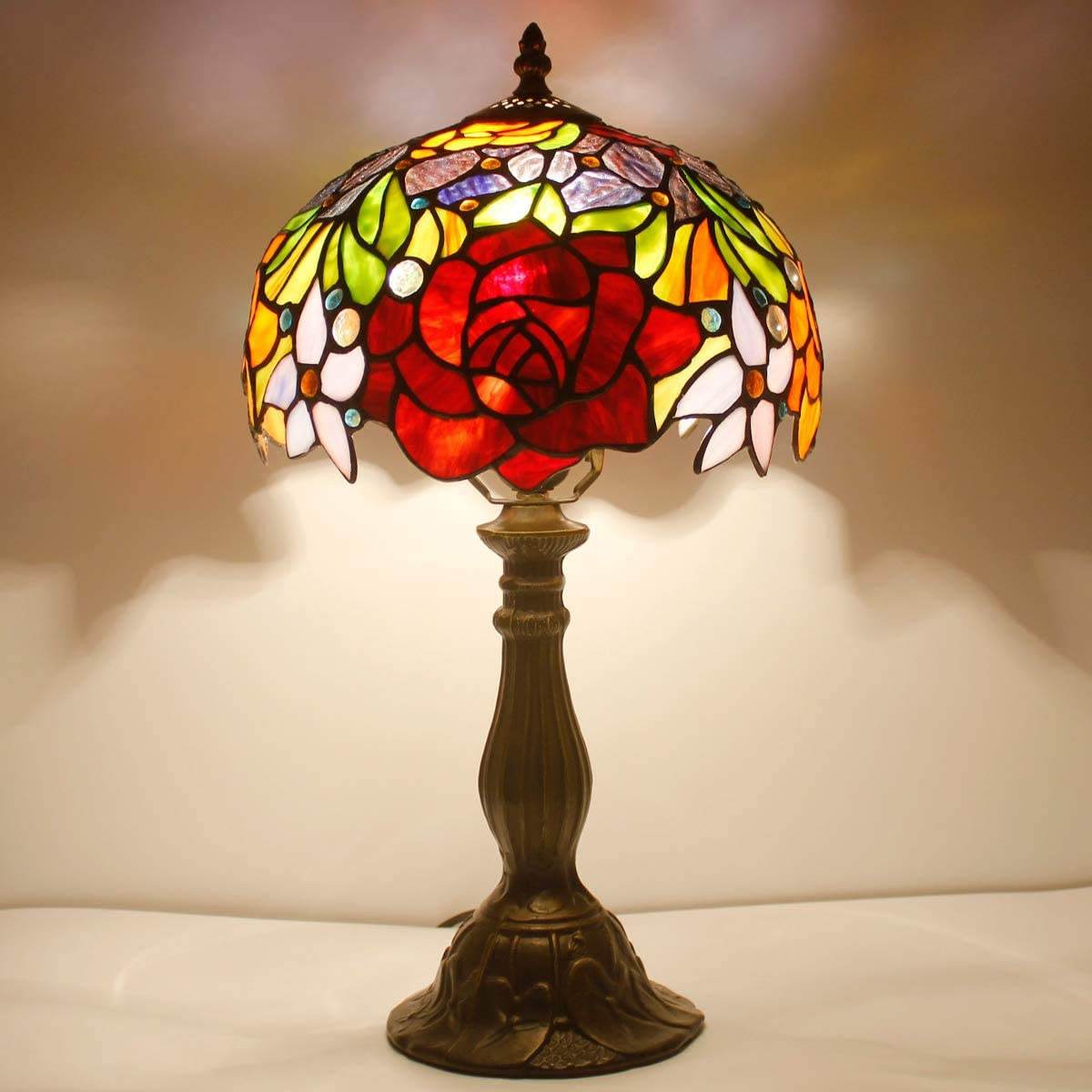 Stained Glass Lamp | Wayfair.co.uk