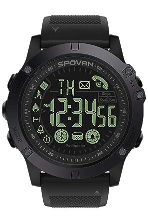 Herrenuhren Smart Uhr Sport Wasserdichte Schrittzähler Nachricht Erinnerung Bluetooth Outdoor Schwimmen Frauen Männer Armbanduhr