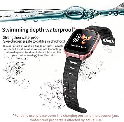Bewinner Multifunctional Waterproof Child Smartwatch, Bidirectional Conversation, Accurate Positioning, SOS Emergency Aid, IP67 Waterproof, Child ...