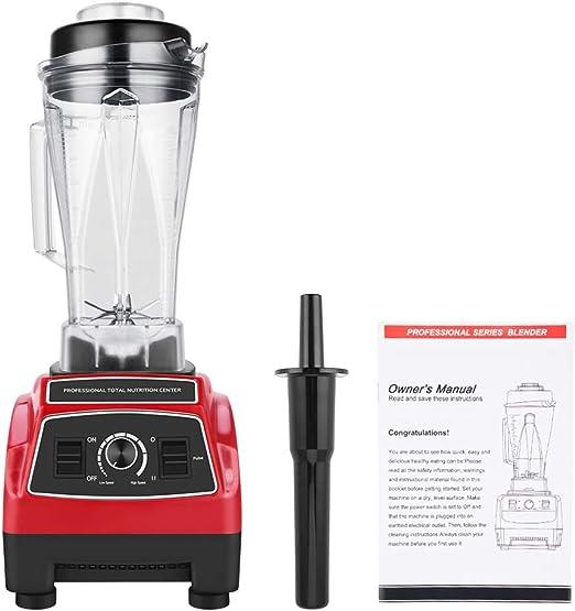 Licuadora para smoothies, 1500 W, batidora de vaso de 35.000 rpm ...
