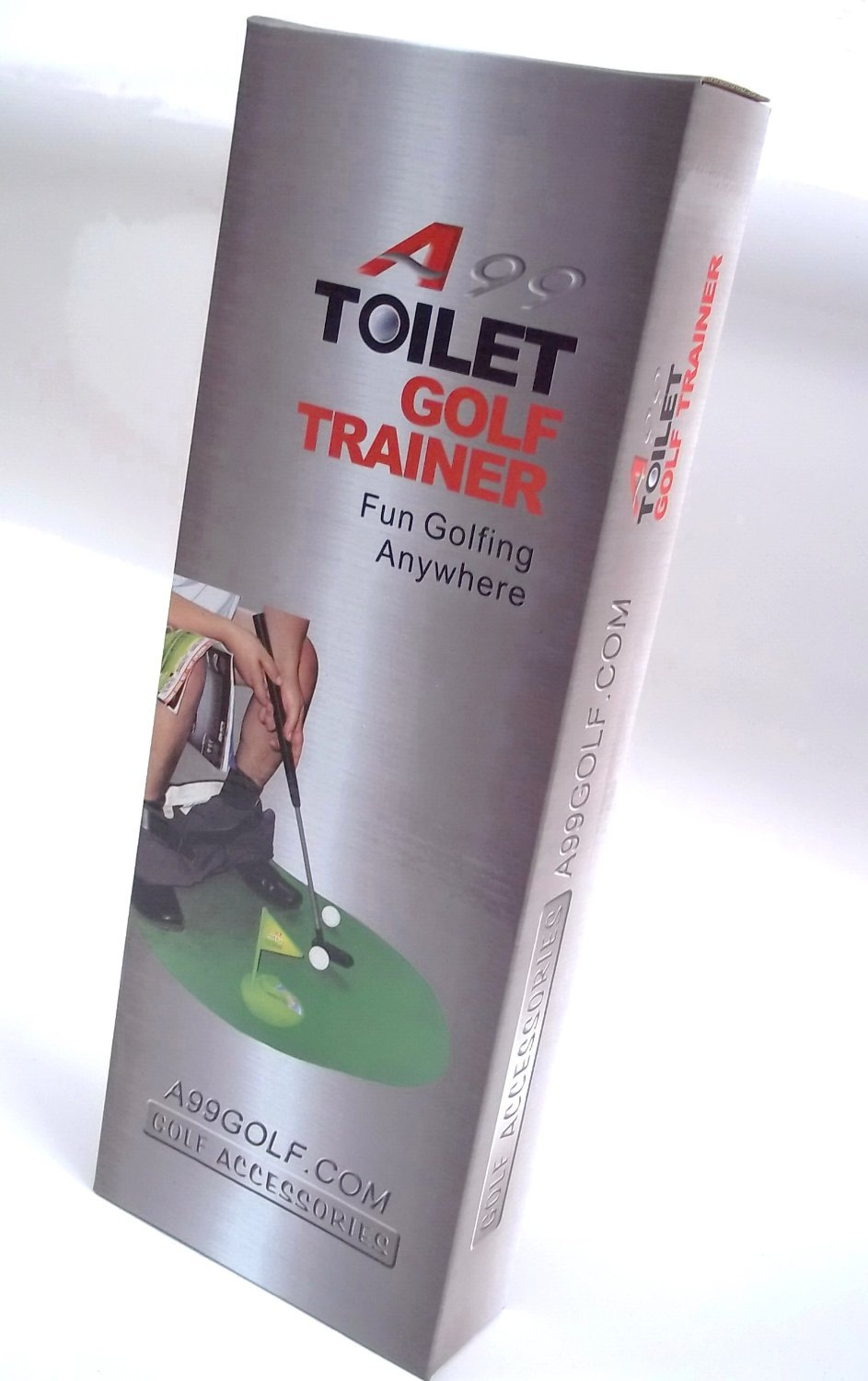 2sets of A99 Golf Toilet Bathroom Mini Golf Mat Set Game Potty Putter by A99 Golf (Image #5)